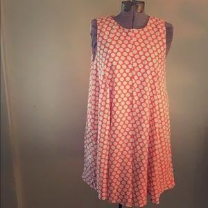BCBGeneration Polka Dot Dress!